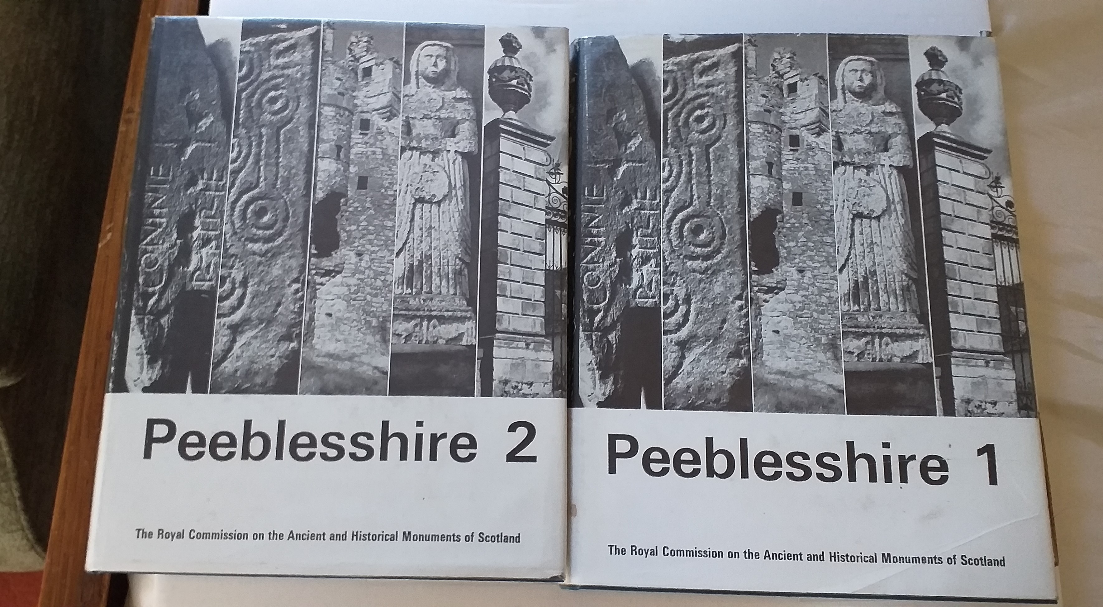 Image for Peebleshire: an Inventory of the Ancient Monuments Volumes One and Volumes Two